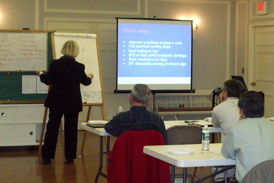 Training presentation for local officials