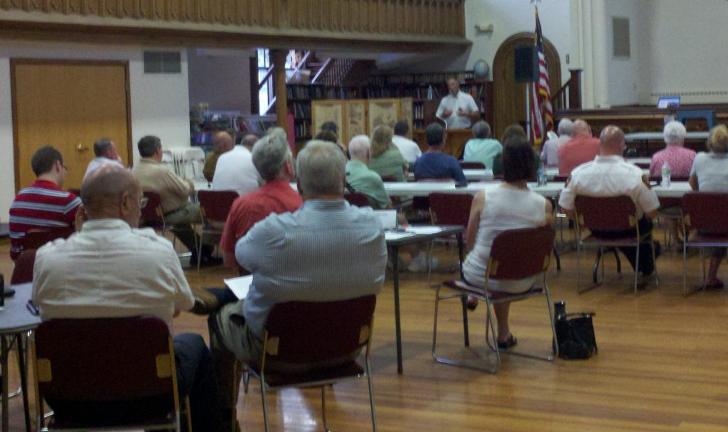 Public meeting on natural hazards mitigation