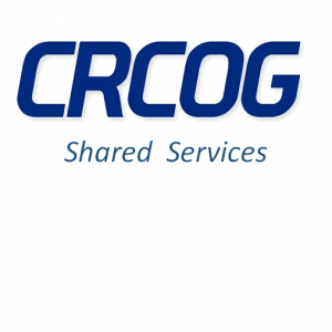CRCOG logo with the words Shared Services underneath